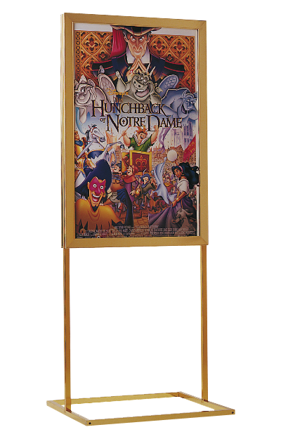 Freestanding Frames Movie Theater Displays Graphic Display
