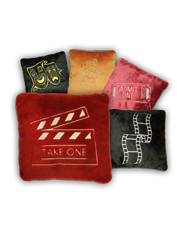theatrical plush pillows
