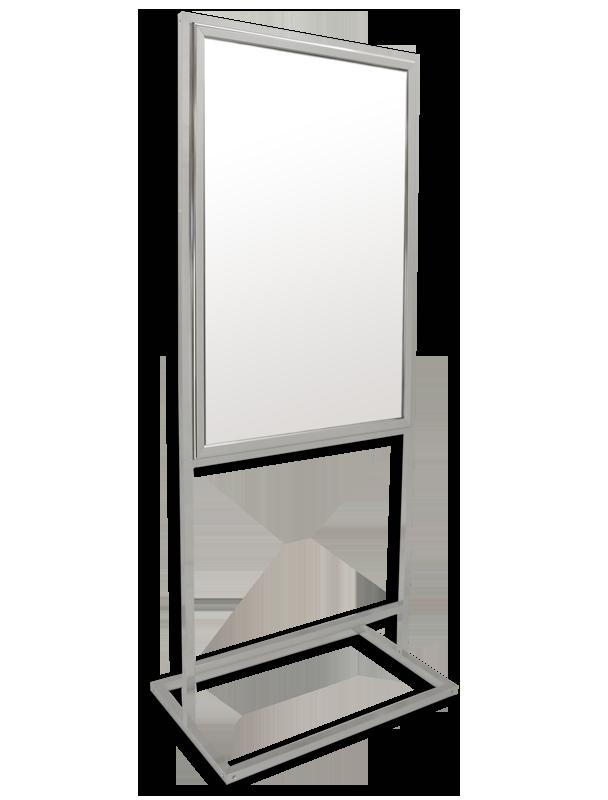 bass loc pedestal free standing frame