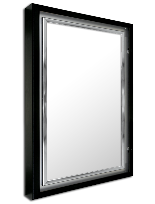 ETS-12 EDGELINE LUMINA SERIES lockable lightbox