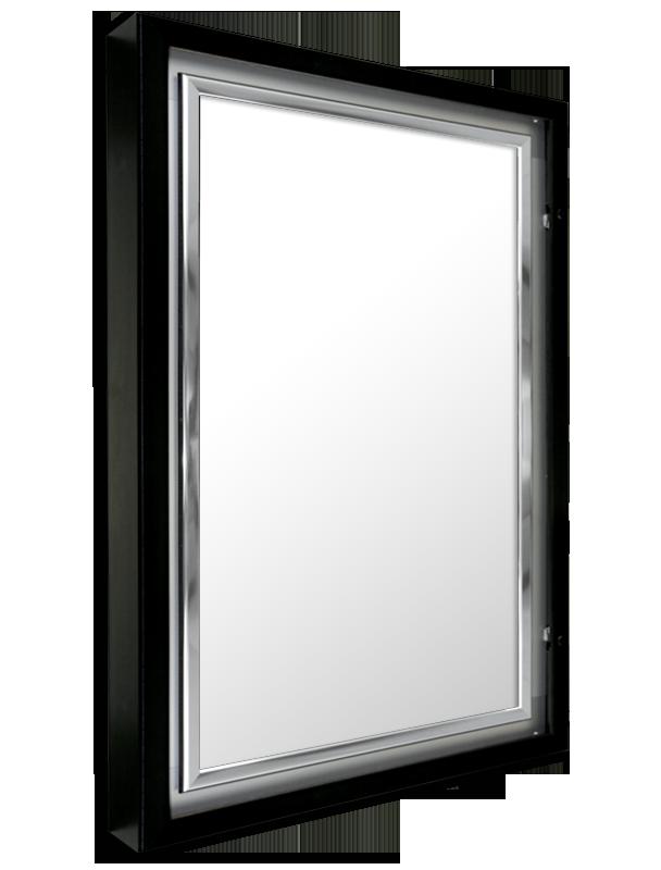 ETS-12 EDGELINE LUMINA SERIES lockable lightbox