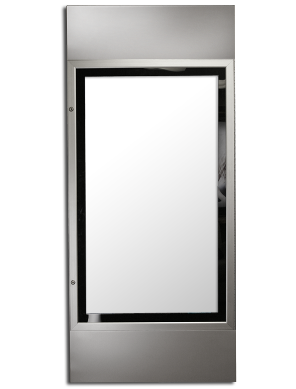 ETS-18 PYLON SERIES lockable lightbox