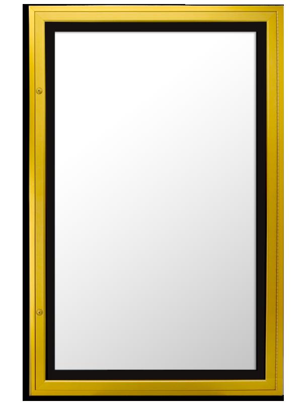 ETS-1S CLASSIC SLIMLINE SERIES lockable lightbox