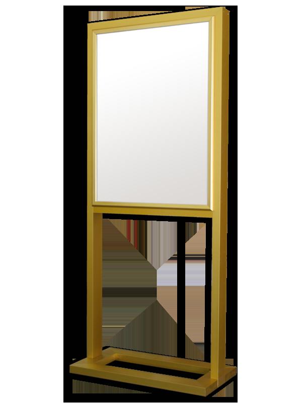 tubular series free standing frame