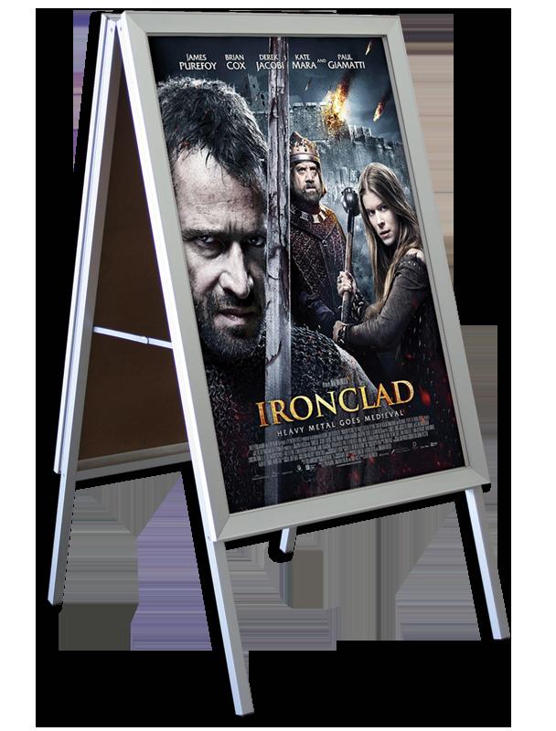 a-frame free standing frame